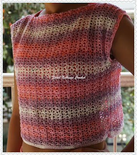 free crochet crop top pattern
