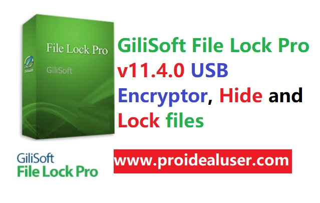 GiliSoft File Lock Pro v11.4.0 USB Encryptor, Hide and Lock files