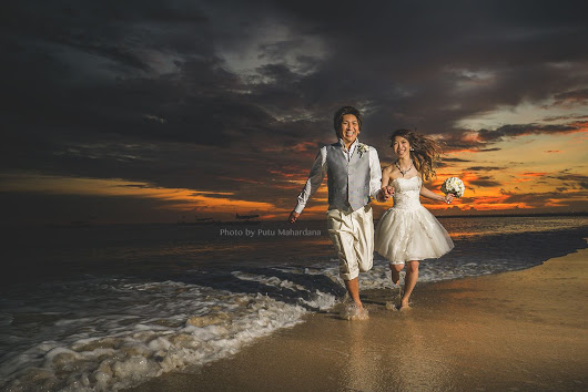Sunset Photo Wedding