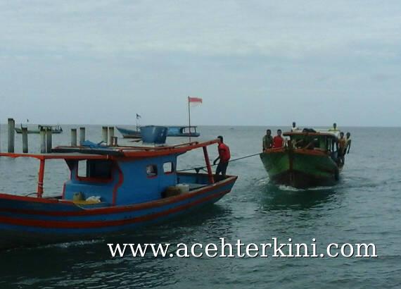 Sempat Terapung Ditengah Laut, Kapal Milik Warga Aceh SIngkil Ini Selamat