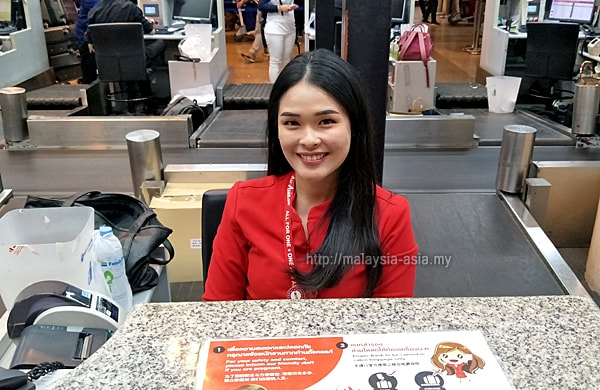 Don Mueang Airport AirAsia Check In Counter