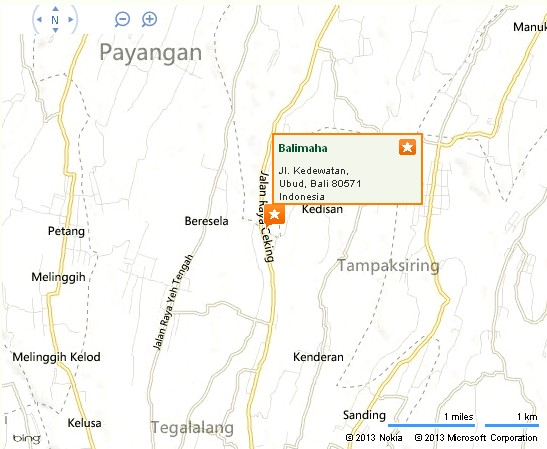 Balimaha Ubud Location Map,Location Map of Balimaha Ubud,Balimaha Ubud Accommodation Destinations Attractions Hotels Map