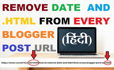 How to remove the date from blogger post url links