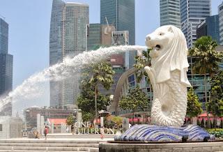 air mancur singapura