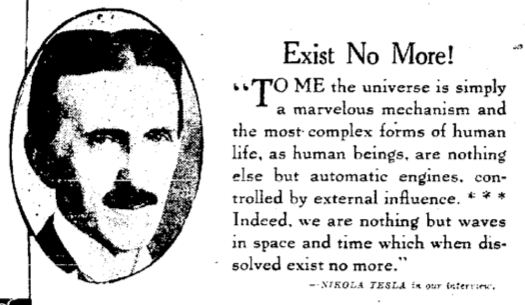 Life After Death According to Nikola Tesla, Henry Ford and