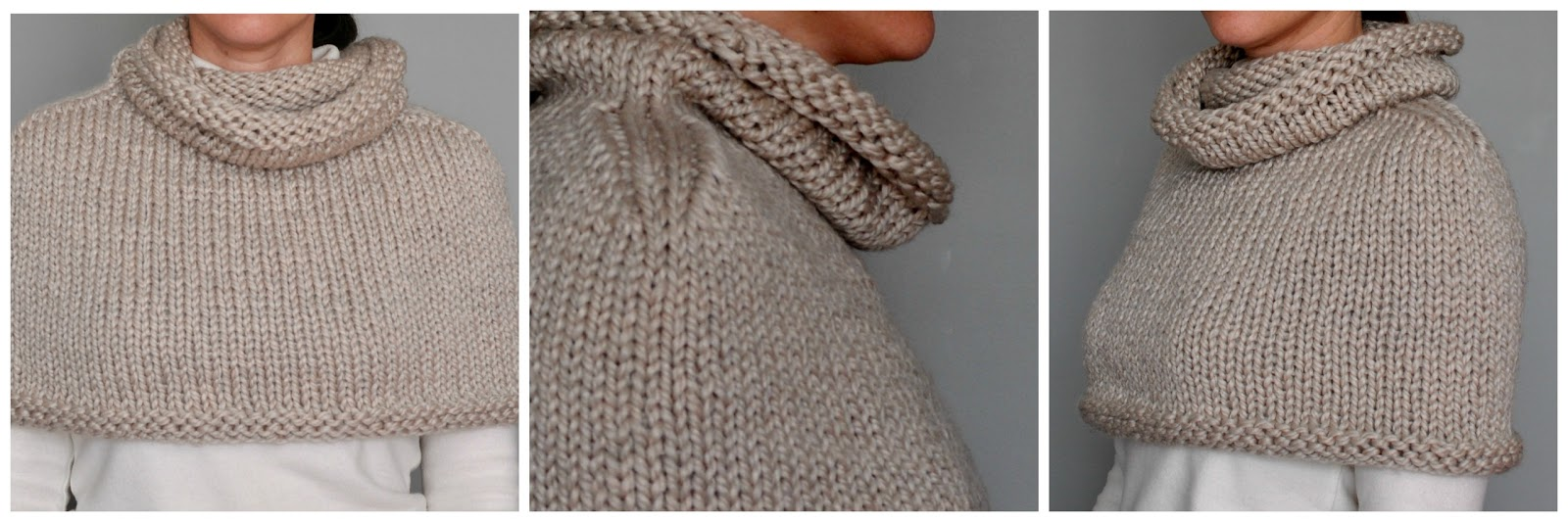 Barefoot Stamp: Purl Soho Mountain Capelet
