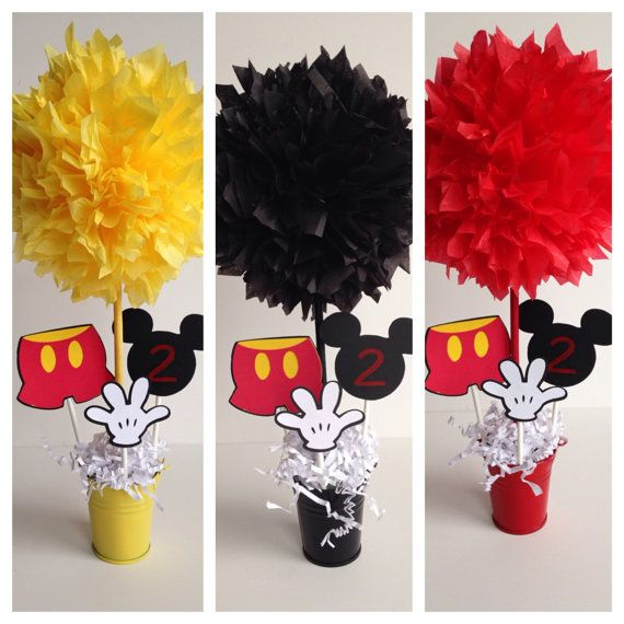 Faça Você Mesmo Decoração Mickey Mouse diy