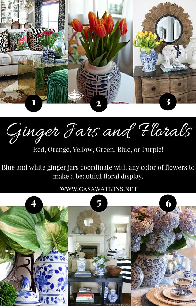 Ginger Jars The Blue Jeans Of Home Decor Casa Watkins Living