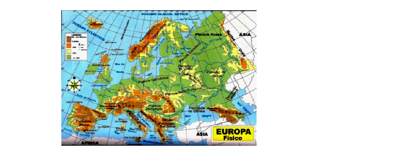 Rio Volga Mapa Fisico.Geografia Com Helio Chagas Exercicios 9º Ano Europa