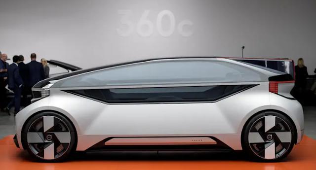 Volvo 360c, Robo-Taxi