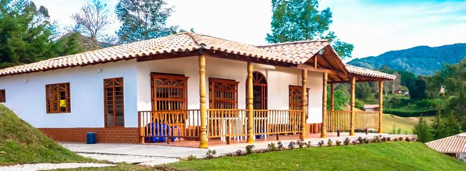 Casas prefabricadas casa real enero 2014 for Disenos de fincas campestres