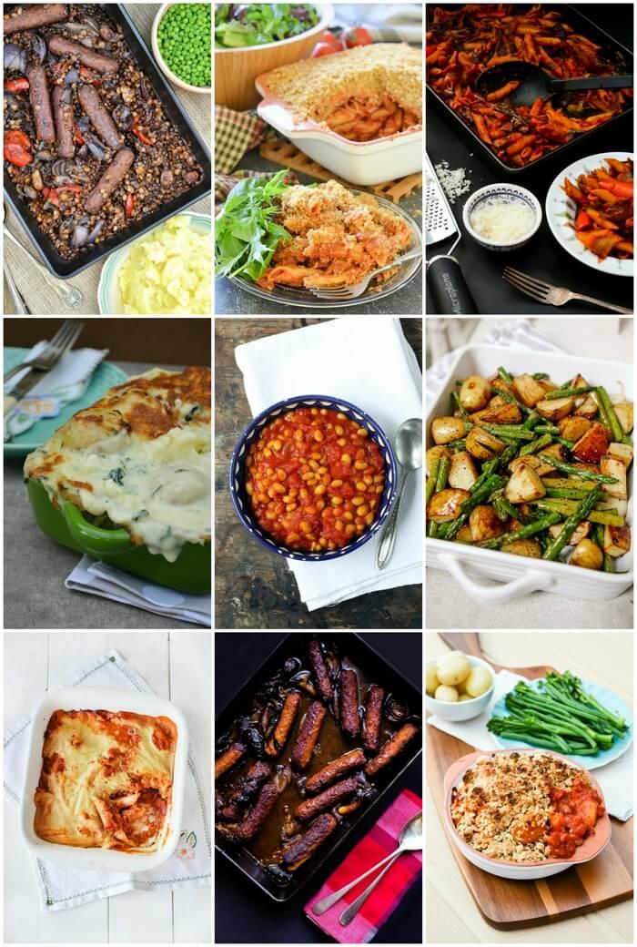 9 easy vegan savoury bakes