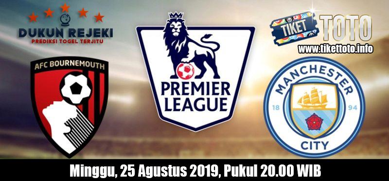 Prediksi Pertandingan Bournemouth VS Manchester City 25 Agustus 2019
