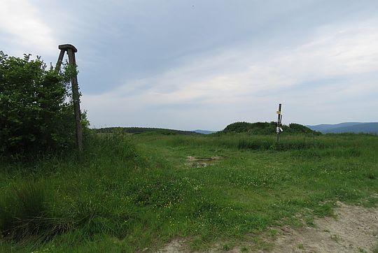 Wahalowski Wierch (666 m n.p.m.).