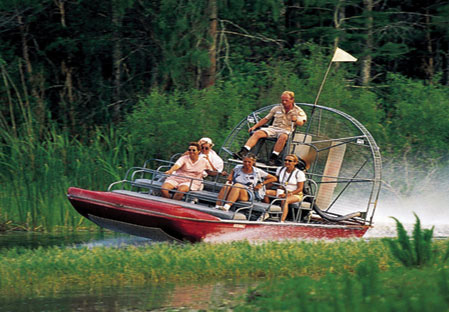 Key West Road Trip Everglades Airboat Tour