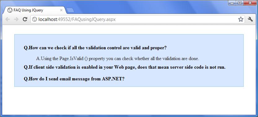 Free ASP NET Source Code & Tutorial: December 2011