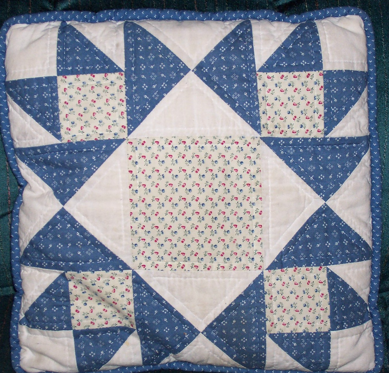how to make a block quilt