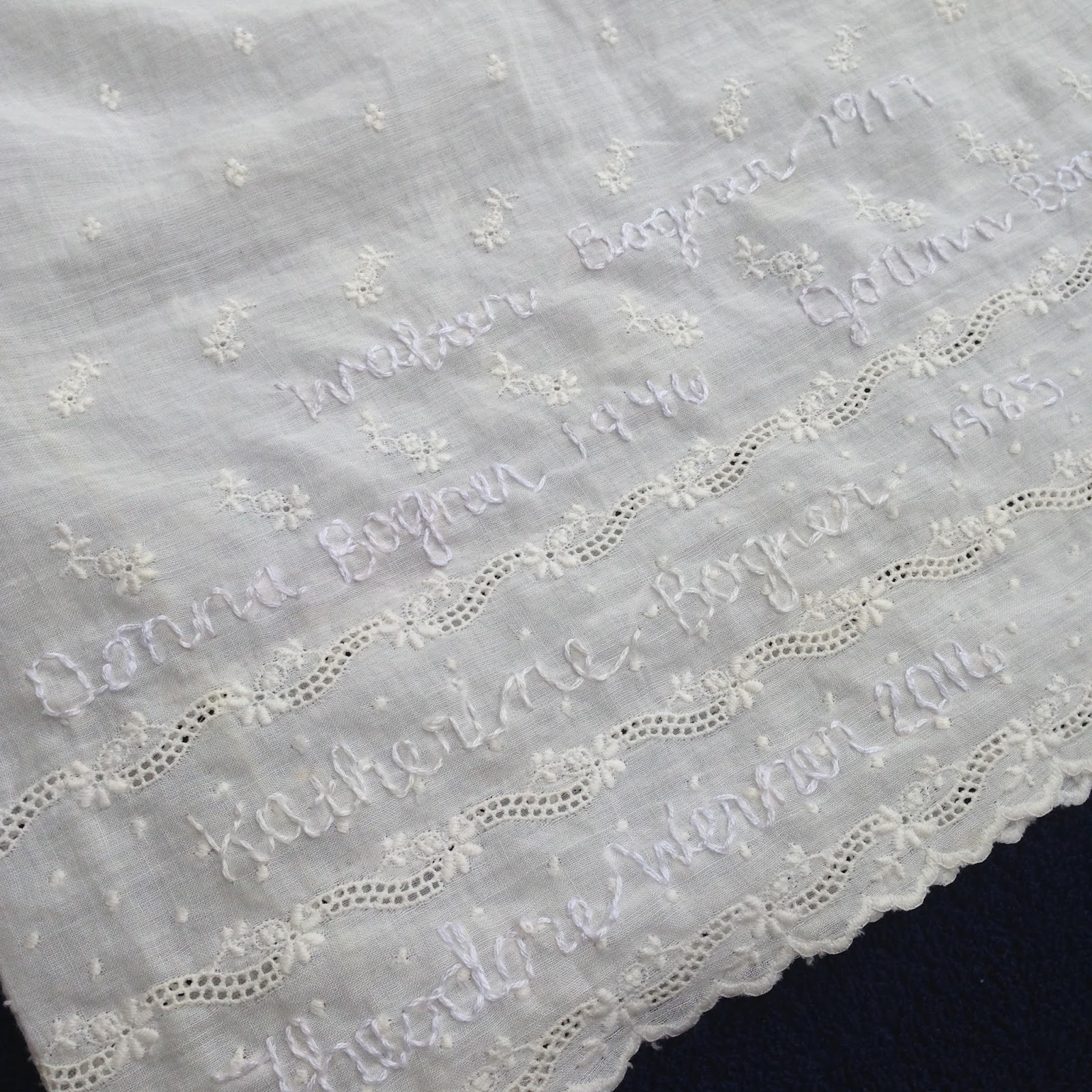 Look to Him and be Radiant: Our 100 Year Old Family Baptismal Gown