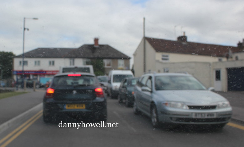 dannyhowell net: Road Traffic Accident At Copheap Lane, Warminster