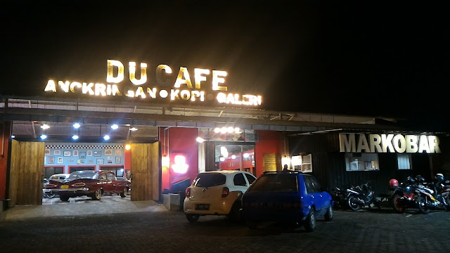 tampilan depan Du Cafe Semarang