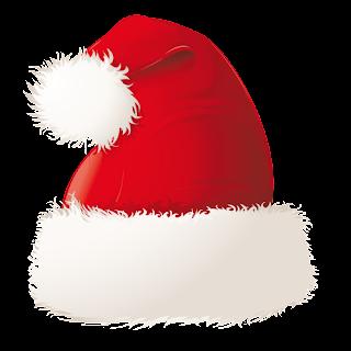 gorra roja de santa claus