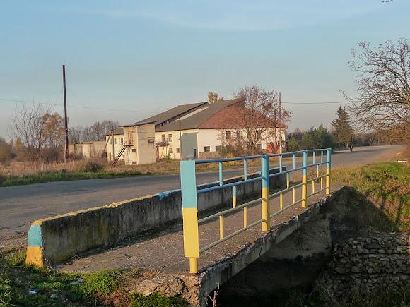 Міст через річку Жижаву