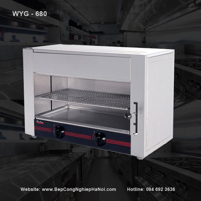 Lò nướng Salamander 2 họng WYG-680