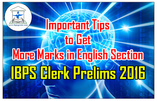 Important Tips to Get Pass Marks in English Section in IBPS CLERK VI Prelims Exam