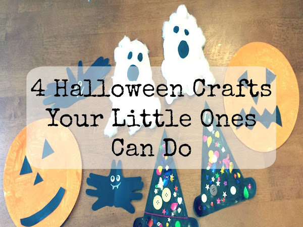 4 Halloween Crafts Your Little Ones Can Do