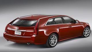 Dream Fantasy Cars-Cadillac CTS Sport Wagon 2012