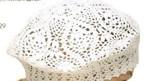 Boina de encaje al crochet