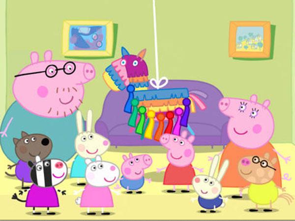 Dibujos a color ♥: Dibujos Peppa Pig