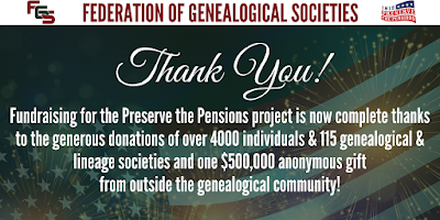 With Historic Gift and Community Support, the Fundraising for the Preserve the Pensions Is Officially Completed! via FGS.org