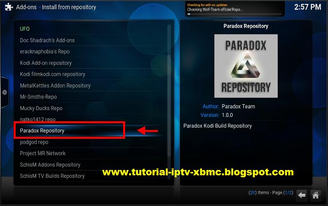 Paradox Build & Wizard Add-on For Kodi 17 - New Kodi Addons