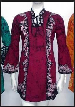 Inspirasi 35 Model Baju Kerja Batik