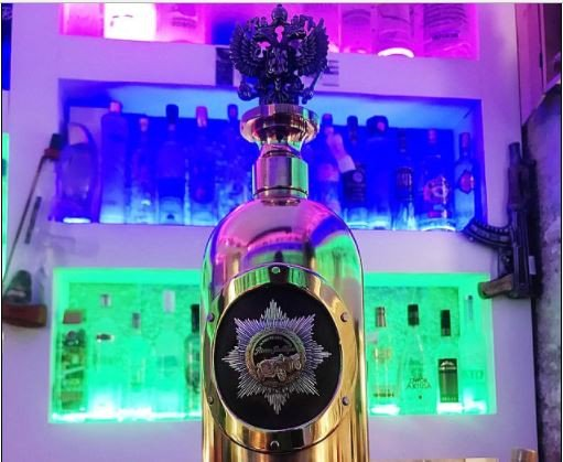 World's most expensive bottle of vodka worth $1.3m goes missing at a bar (Photos)