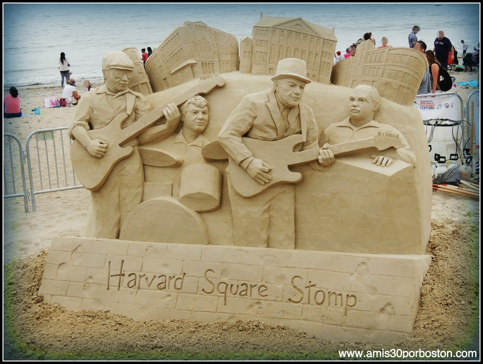 "Revere Beach 2014 National Sand Sculpting Festival: ""Harvard Square Stomp With Ronnie Earl And The Broadcaster"""