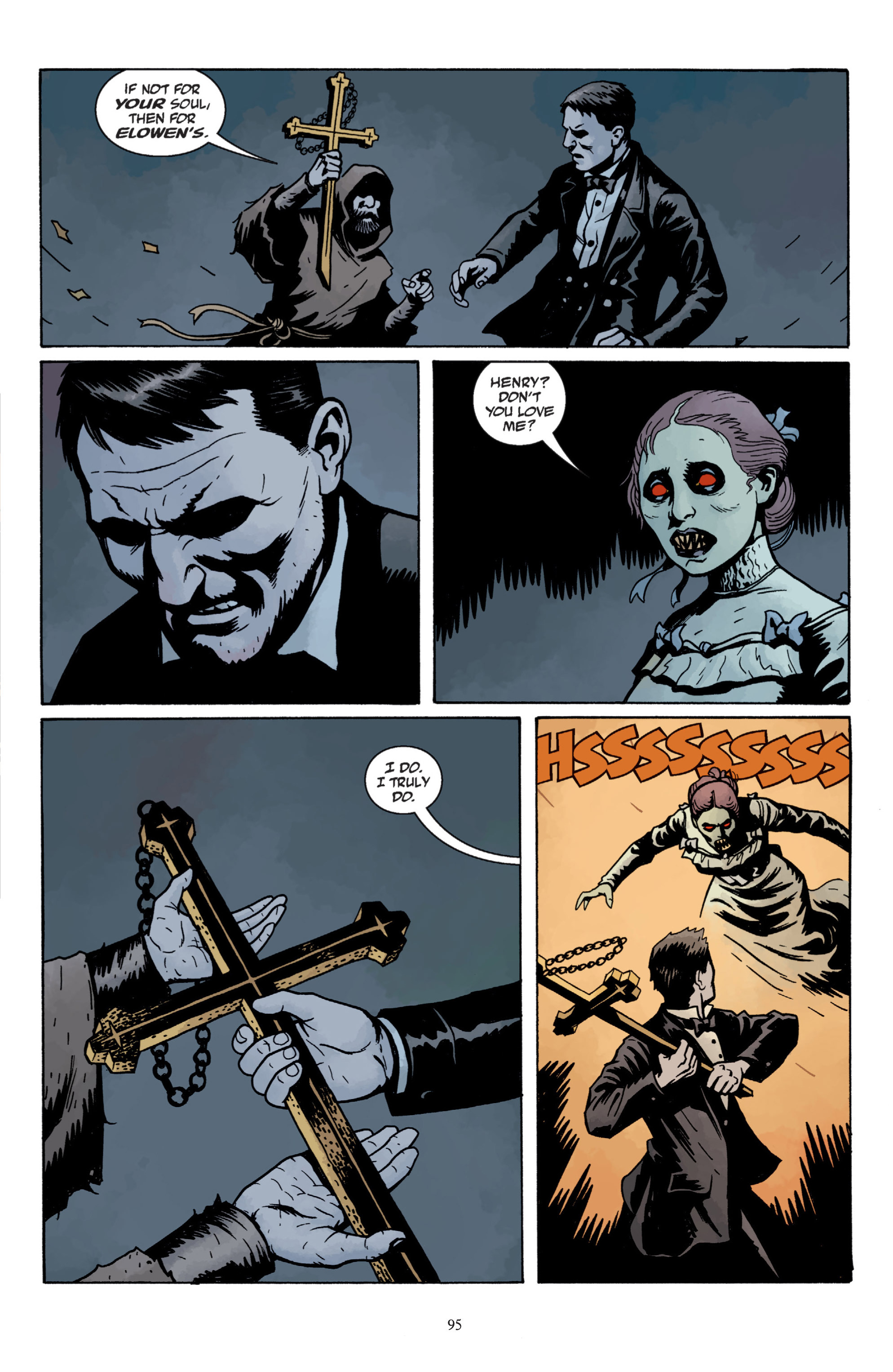 Read online Baltimore: The Plague Ships comic -  Issue # TPB - 95