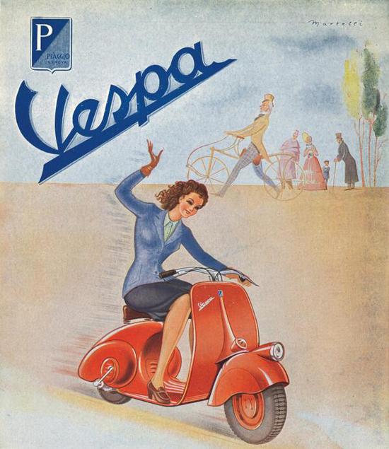 Vespa ad 1946