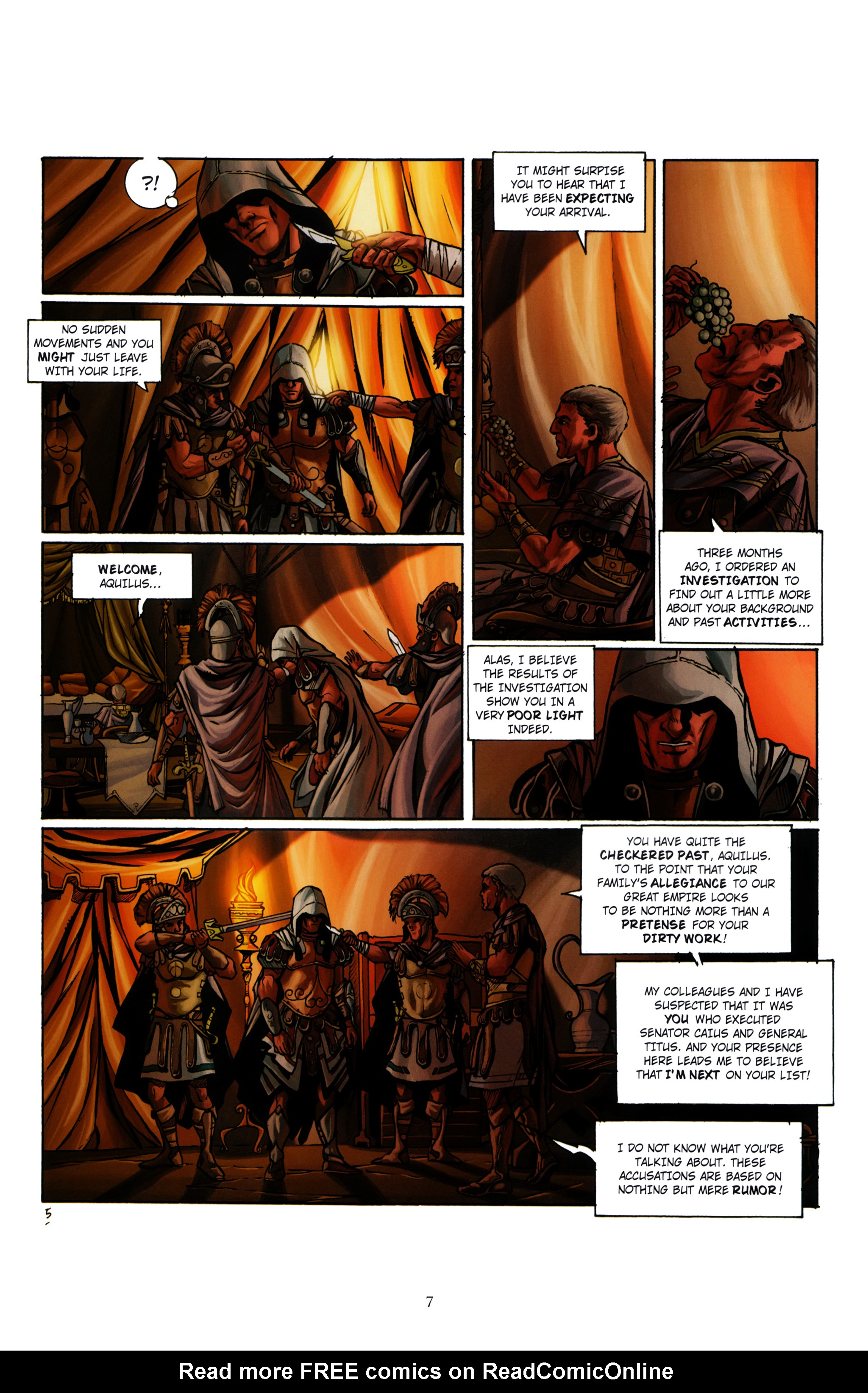 Read online Assassin's Creed (2012) comic -  Issue #1 - 11