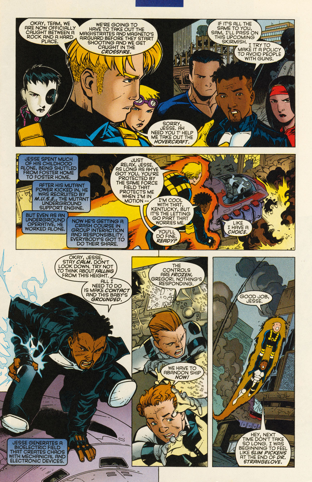 Read online X-Force (1991) comic -  Issue #94 - 5