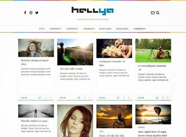 Hellya Blogger Template