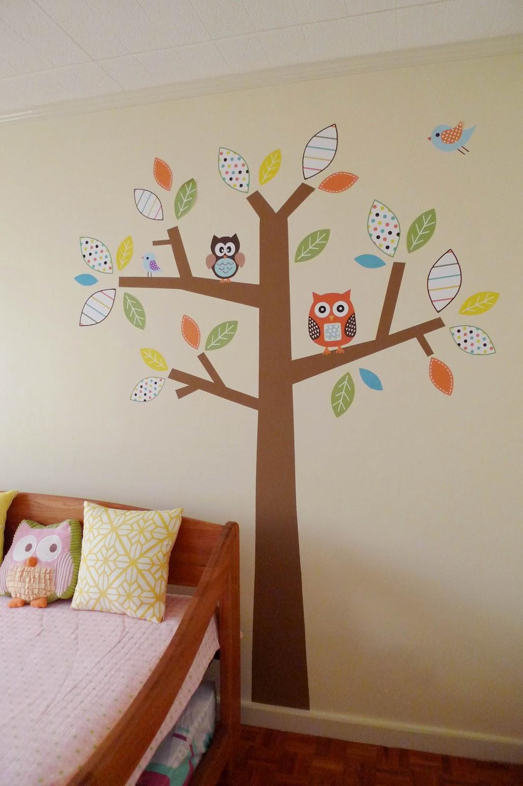 MrsMommyHolic: DIY: Owl Tree Wall Mural