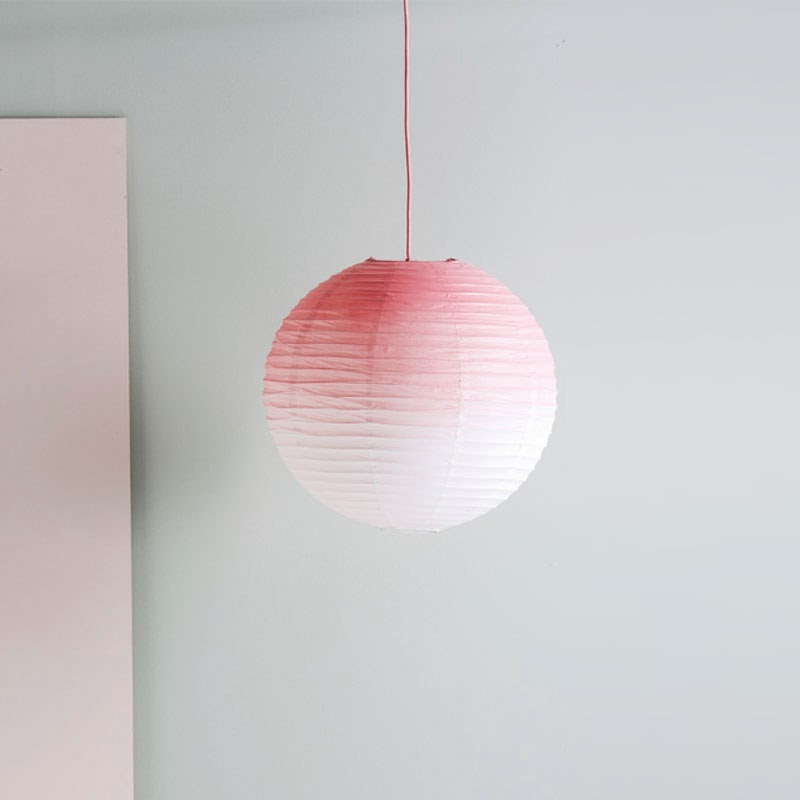 10 lámparas clásicas del diseño industrial, farolillo de papel