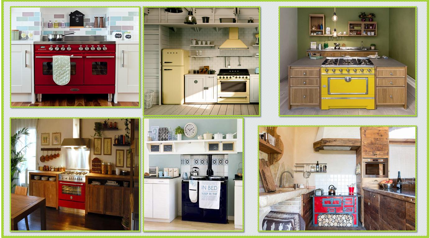 Elementi vintage in cucina gena design