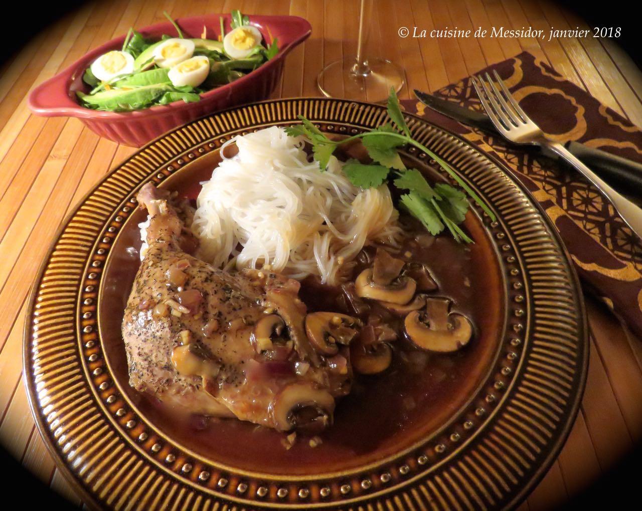 La cuisine de messidor cuisses de canard confites sauce la japonaise - Cuisse de canard en sauce ...