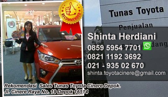 Rekomendasi Sales Tunas Toyota Cinere Depok