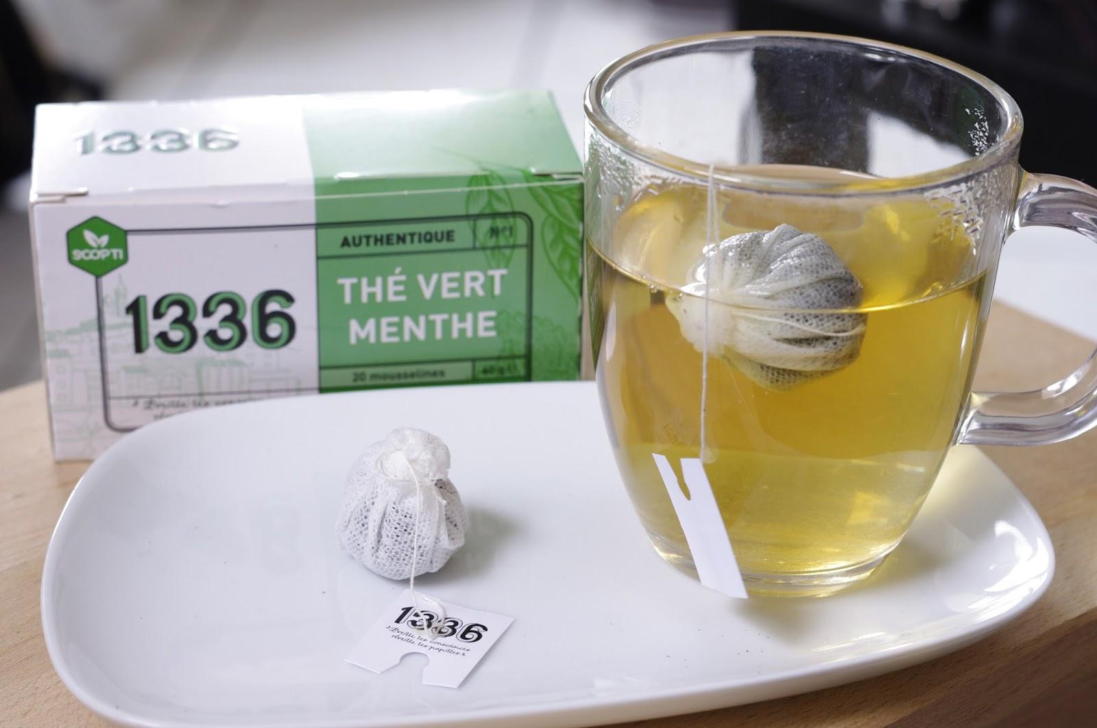 1336 Thé vert menthe