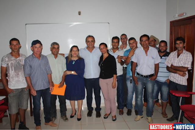 Laerte Queiroz recebe apoio da comunidade de Nova Mamoré