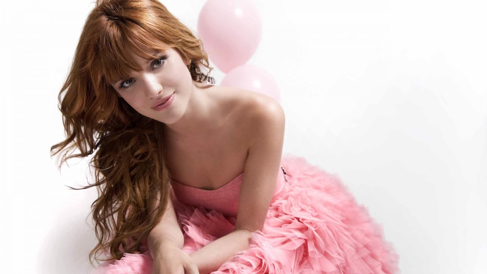 Music Wallpapers Bella Thorne Pink Style Wallpaper